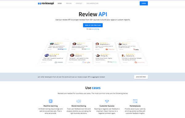 reviewapi - Review API