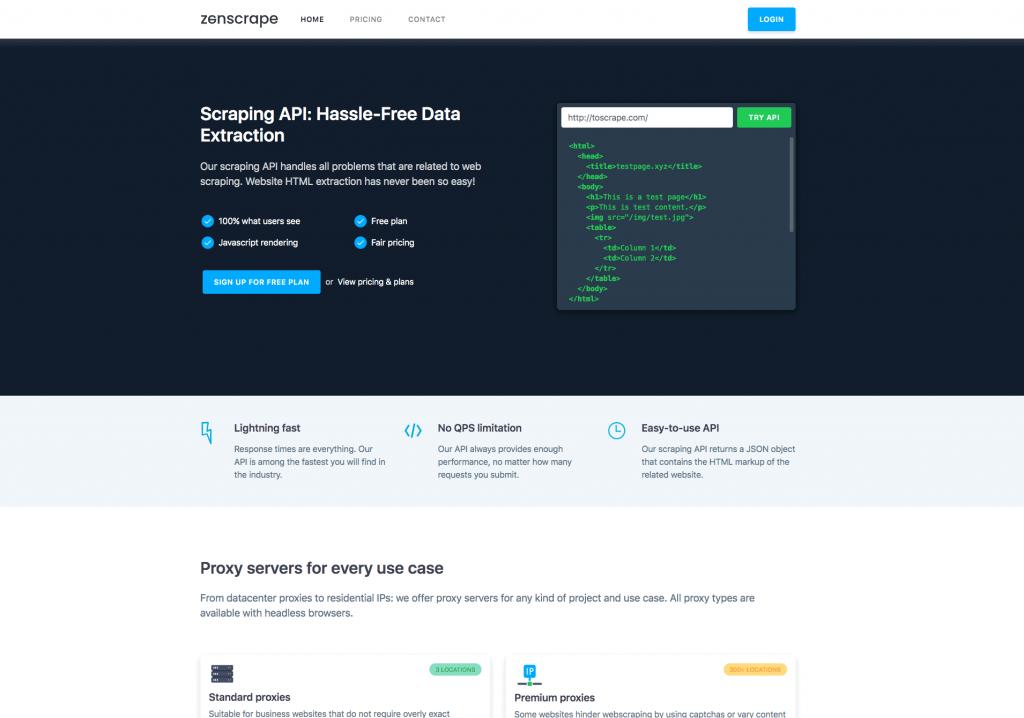 best web scraping tool