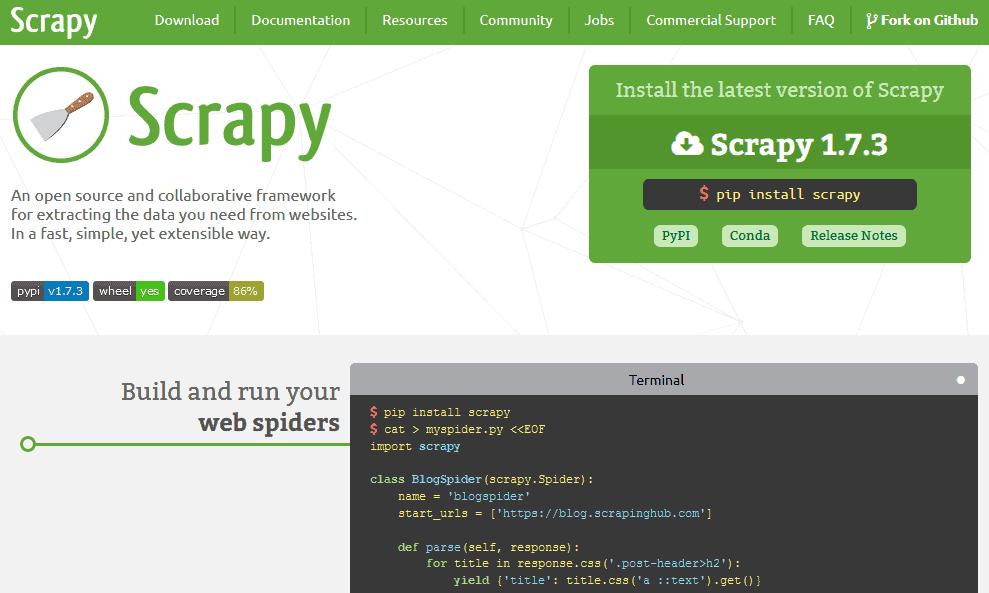 best free web scraper
