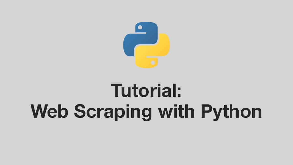 web-scraping-with-python-tutorial
